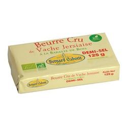 Beurre BIO demi sel 125 g