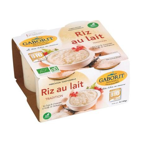 Riz au lait BIO X4