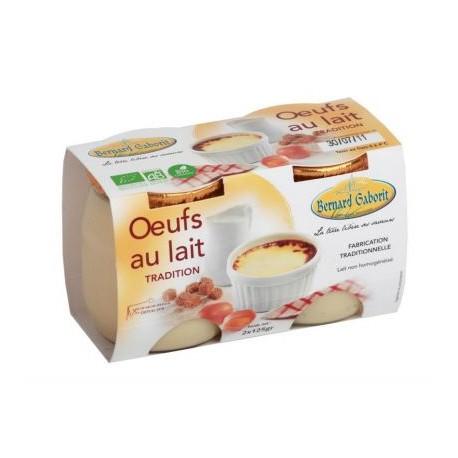 Oeufs au lait BIO X2