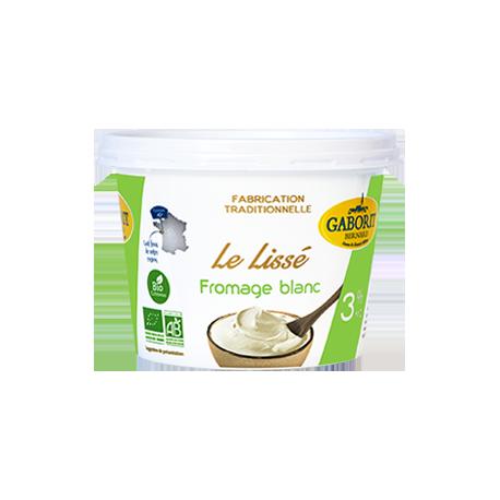 Fromage blanc BIO 3% de matière grasse